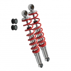 Shockabsorber LC red/chrome 330mm Dax/Monkey