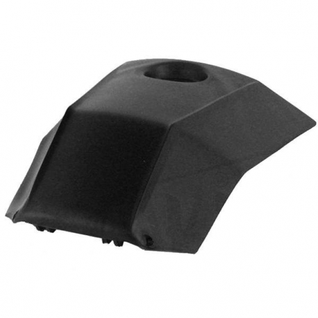 Fuel tank cap cover black for Derbi DRD - Senda R - Xtrem - X Race