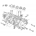 Exploded views of 50cc gear box engines